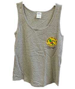 Front of gray men's tank top
