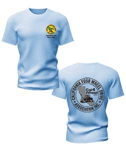 Youth T-shirts in light blue