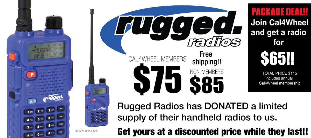 Rugged Radios Promotion
