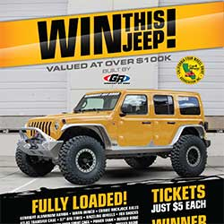 Win this 2019 Jeep JL customized by GenRight