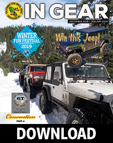 December 2018/January 2019 In Gear cover