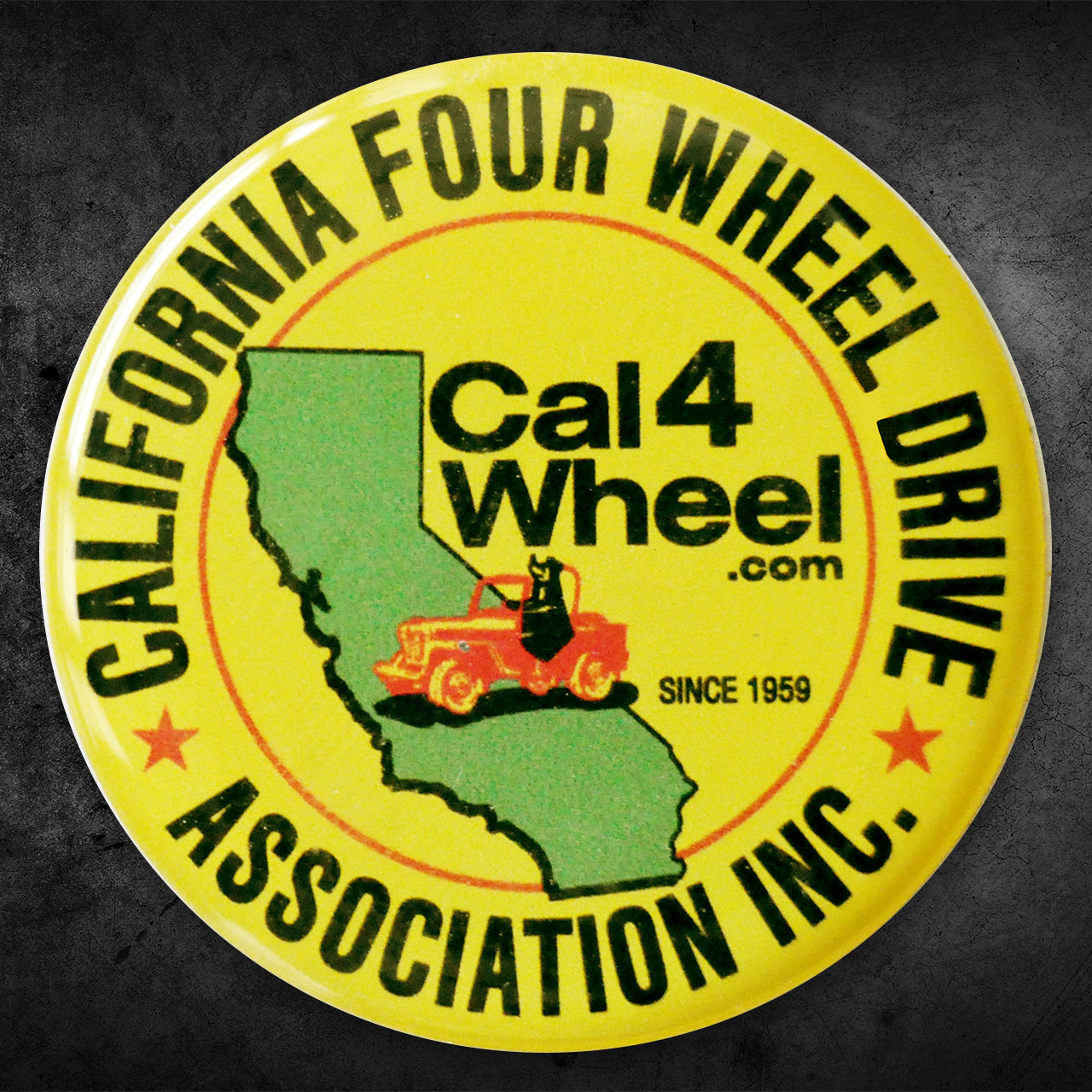Cal4Wheel Domed Decal